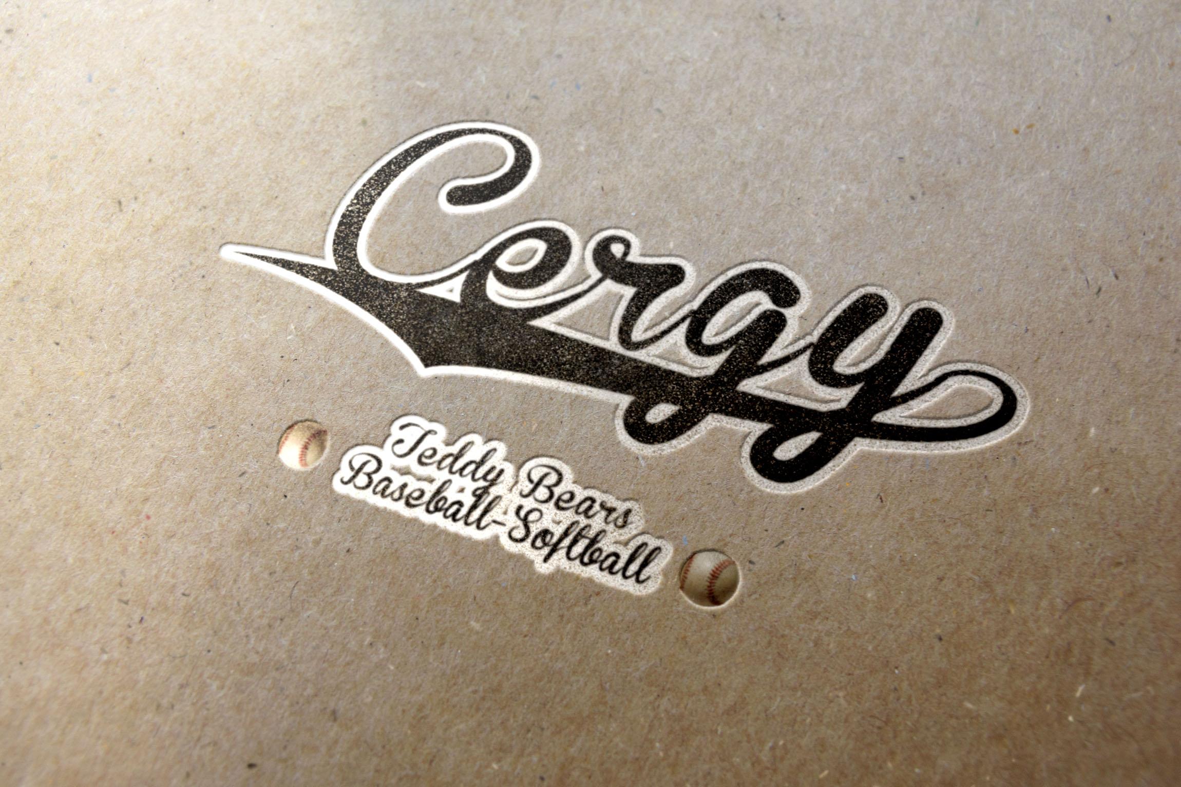 cergyLetterpress_Logo #1