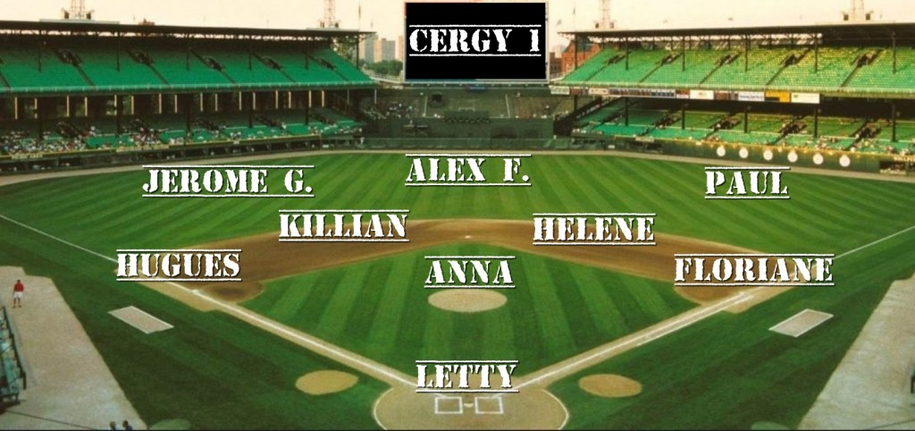 line up teddy Cergy 1