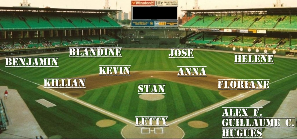 line up teddy slow pitch game1
